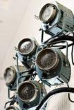 oświetleniowy światło reflektorów systemu theatrical Zdjęcia Royalty Free
