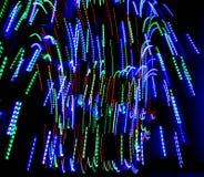 Oświetleniowy neo deseniowy tło Fotografia Royalty Free