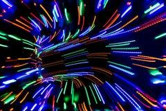 Oświetleniowy neo deseniowy tło Zdjęcia Stock