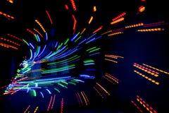 Oświetleniowy neo deseniowy tło Fotografia Stock