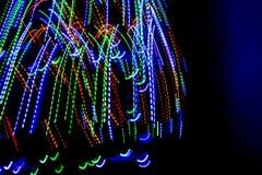 Oświetleniowy neo deseniowy tło Zdjęcie Stock