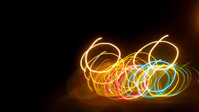Oświetleniowy okręgu tło Zdjęcie Royalty Free