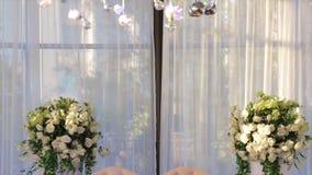 Oświetleniowy wystrój, żarówka Szklani koraliki szklani koraliki wieszają na suficie szklane piłki jako dekoraci obwieszenie na zdjęcie wideo