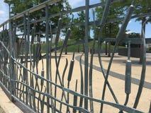 Ożypałki ogrodzenie Zdjęcia Stock