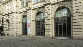 O ¼ de Literaturhaus MÃ nchen, Alemanha fotos de stock