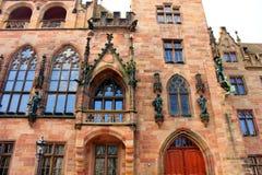 O ¼ de Saarbrà cken em Alemanha foto de stock