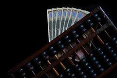 O ábaco velho fotografia de stock royalty free