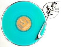 O álbum azul Imagem de Stock Royalty Free
