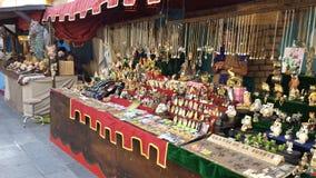 O árabe introduz no mercado a Espanha de Ibiza Imagens de Stock