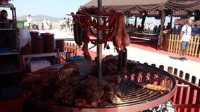 O árabe introduz no mercado a Espanha de Ibiza Fotos de Stock Royalty Free