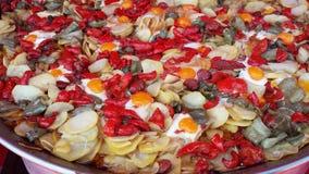 O árabe introduz no mercado a Espanha de Ibiza Imagens de Stock Royalty Free