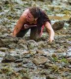 """21o †anual de Marine Mud Run """"que se arrastra Fotos de archivo libres de regalías"""