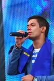 """O †de Stanislav Piatrasovich Piekha (Stas Piekha)"""" é um cantor e um ator popular do russo, e o neto de Edita Piekha Imagem de Stock"""