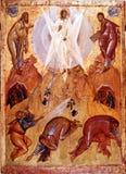 O ícone da transfiguração do senhor Imagens de Stock Royalty Free