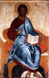 O ícone de Jesus Christ Fotografia de Stock