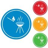 O ícone do assado Imagem de Stock Royalty Free