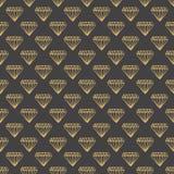 O ícone do fundo do diamante grande para alguns usa-se Foto de Stock Royalty Free