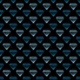 O ícone do fundo do diamante grande para alguns usa-se Imagens de Stock