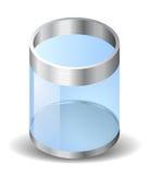 O ícone para recicl o escaninho Fotos de Stock
