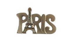 O ímã da lembrança - Paris, França fotografia de stock royalty free