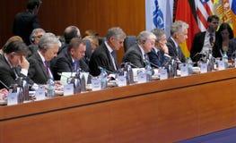 o 2ó Conselho ministerial do OSCE em Hamburgo Imagem de Stock Royalty Free