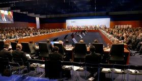 o 2ó Conselho ministerial do OSCE em Hamburgo Fotos de Stock