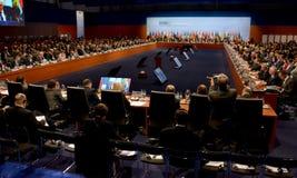 o 2ó Conselho ministerial do OSCE em Hamburgo Fotografia de Stock Royalty Free