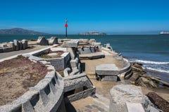 O órgão da onda em San Francisco Imagem de Stock