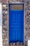 O ósmio Santorini das portas Fotos de Stock Royalty Free