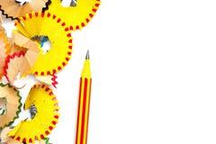 Ołówek i golenia Obraz Stock