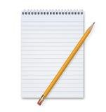 Ołówek i ochraniacz Obraz Royalty Free