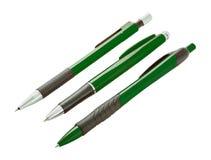 Ołówek i pióro Fotografia Stock