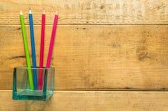 Ołówek na drewnie Obraz Stock