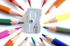 ołówek ostrzarka Zdjęcia Stock