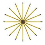 ołówek sztuki. Obrazy Stock