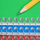 ołówek zeszyty. Zdjęcie Royalty Free