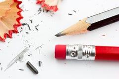 ołówków golenia Fotografia Royalty Free
