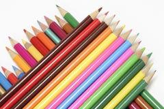 ołówki barwy Fotografia Stock