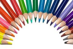 ołówki barwy zdjęcie stock