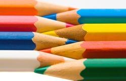 ołówki barwy zdjęcia royalty free