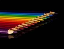 Ołówki surowi fotografia stock