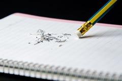 Ołówkowa gumka Obrazy Stock