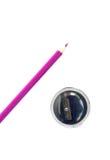 ołówkowa ostrzarka Obrazy Royalty Free