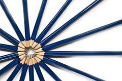 ołówkowi promienie Fotografia Stock
