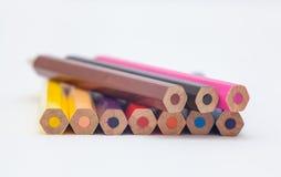 Ołówkowy kolor Zdjęcia Stock