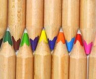 ołówkowy koloru set Zdjęcia Stock