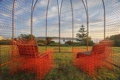 O último recurso - Rusty Observation Dome Fotos de Stock Royalty Free