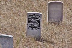 O último suporte de Custer Imagem de Stock Royalty Free