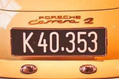O único museu privado de Porsche em Europa é situado na cidade de Gmund, Áustria Fotografia de Stock