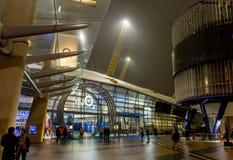 O2ий арена в ноче, Лондон Стоковые Фото